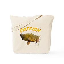 Catfish side Tote Bag