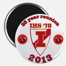 IHS Skunked Logo Magnet