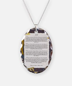 IF by Rudyard Kipling Necklace