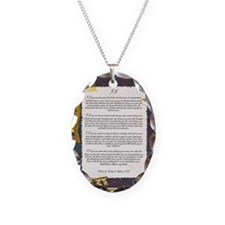 IF by Rudyard Kipling Necklace Oval Charm