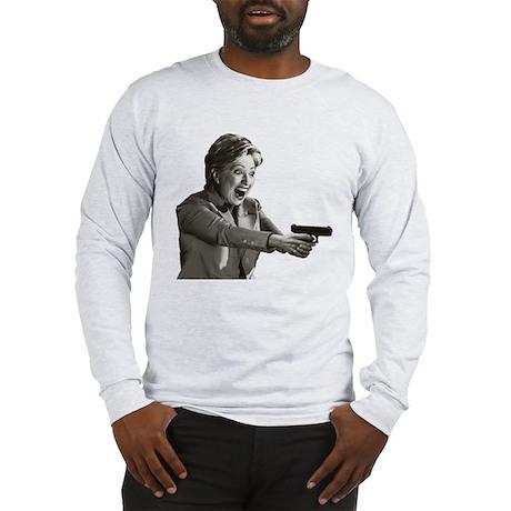 Hillary Shooting Long Sleeve T-Shirt