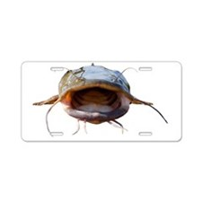 Bigmouth Flathead catfish Aluminum License Plate