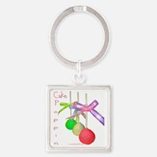 Cale Poppin Square Keychain