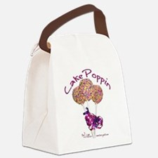 Cake Poppin Canvas Lunch Bag