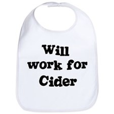 Will work for Cider Bib