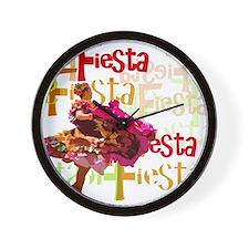 Fiesta Wall Clock