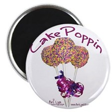 Cake Poppin Magnet