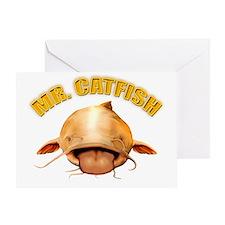 Mr. Catfish Greeting Card