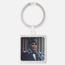The Most Hon. Elijah Muhammad Square Keychain