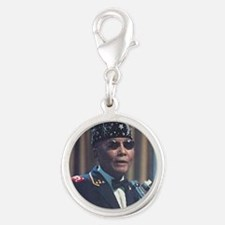 The Most Hon. Elijah Muhammad Silver Round Charm