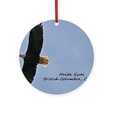 Haida Gwaii Eagle Round Ornament