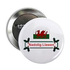 Wales Nadolig Llawen Button