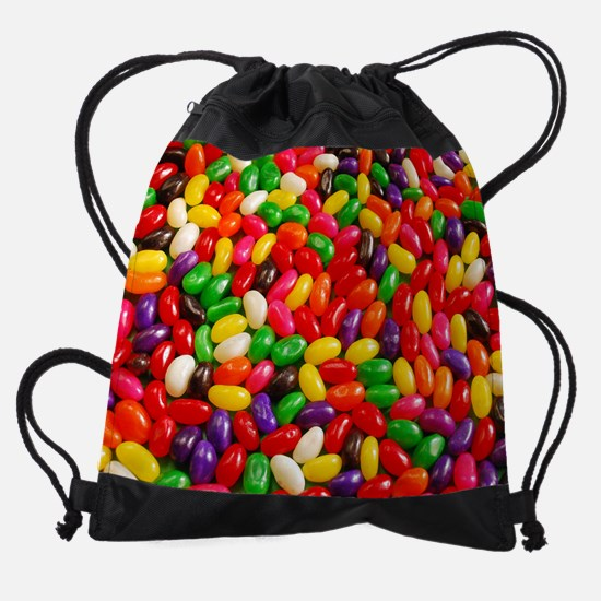 Colorful jellybeans Drawstring Bag