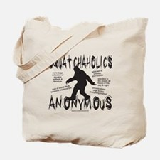 SQUATCHAHOLICS ANONYMOUS Tote Bag