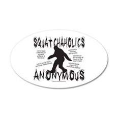 SQUATCHAHOLICS ANONYMOUS Wall Decal