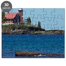 Eagle Harbor Lighthouse Puzzle