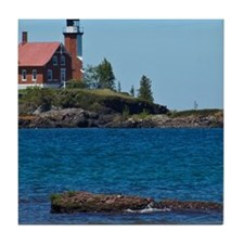 Eagle Harbor Lighthouse Tile Coaster