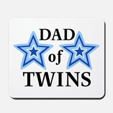 Dad of Twins (Boys) Mousepad