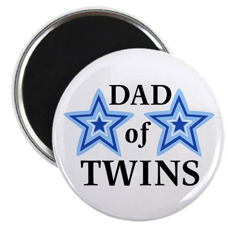 Dad of Twins (Boys) Magnet