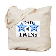 Dad of Twins (Boys) Tote Bag