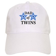 Dad of Twins (Boys) Baseball Cap