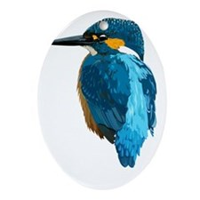KingFisher Oval Ornament