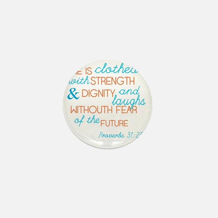 Proverbs 31 Woman Mini Button
