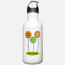 English Teacher Flower Water Bottle