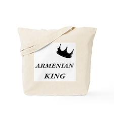 Armenian King Tote Bag