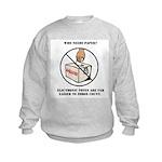 Ballot Voting Sarcastic Kids Sweatshirt