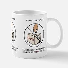 Ballot Voting Sarcastic Mug
