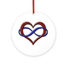 Polyamory Pride Designs Ornament (Round)