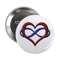 "Polyamory Pride Designs 2.25"" Button"