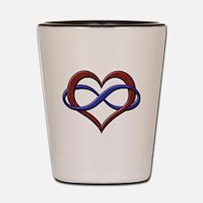 Polyamory Pride Designs Shot Glass