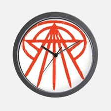 cthulhu-star3-red-T Wall Clock