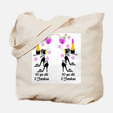 CHIC 50TH Tote Bag