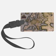 Europe Map 1572 Luggage Tag