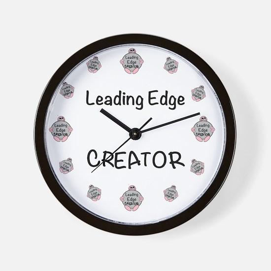 leading edge modern  Wall Clock