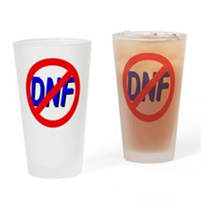 No DNF Drinking Glass