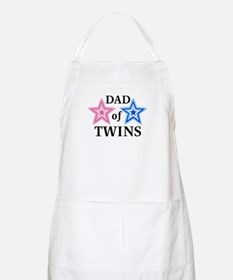 Dad of Twins (Girl, Boy) BBQ Apron