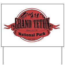 grand teton 2 Yard Sign