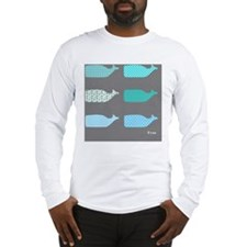 Gray Whales EVAN Long Sleeve T-Shirt