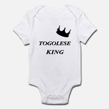 Togolese King Infant Bodysuit