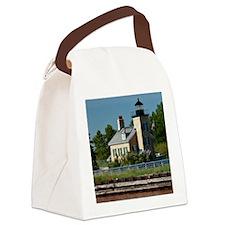 Onondaga Lighthouse Canvas Lunch Bag