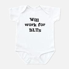 Will work for BLTs Infant Bodysuit