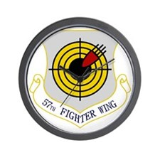 57th Fighter Wing Wall Clock