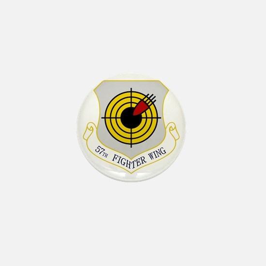 57th Fighter Wing Mini Button