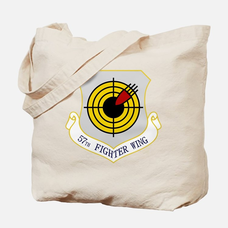 57th Fighter Wing Tote Bag