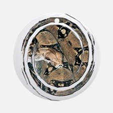 Boa Constrictor Ornament (Round)