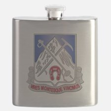 DUI - 2nd Bn - 87th Infantry Regiment Flask